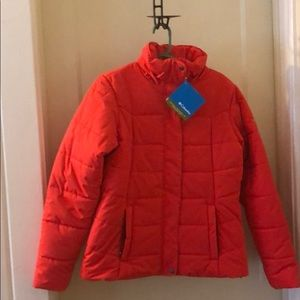 Columbia Omni-Shield Red Puffer Jacket